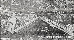 Troop trail wreck near Jellico.
